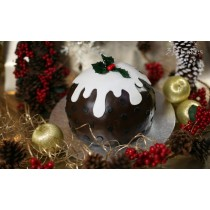 Christmas Cake In A Choice Of Three Styles & Three Delicious Flavours To Choose From
