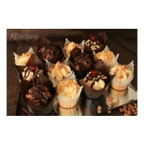 12 CHOCOLATE & GATEAU CUPCAKES £12 or 2 Boxes just £20