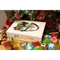 12 Luxury Christmas Cupcakes *CHRISTMAS SALE*