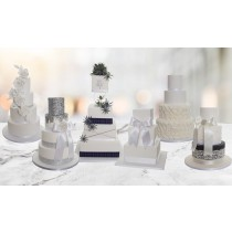 3, 4, 5 or 6 Tier Classic Wedding Cake; Choice of 6 Designs *CHRISTMAS SALE*