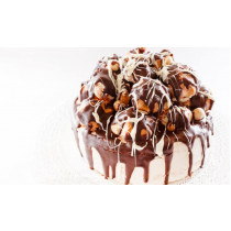Chocolate Profiterole Cake in a Choice of Four Sizes