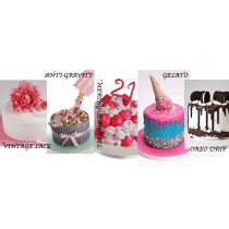 Occasions Cake - Choice of 13 Designs - Small, Medium or Large