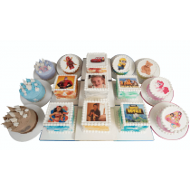 Colourful Personalised Picture Cakes - From 3D Cakes