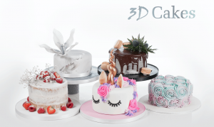 Occasions Cake in a Choice of 14 Designs - Small, Medium or Large