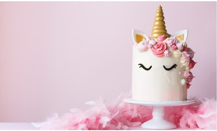 Luxury Frosted Unicorn Cake