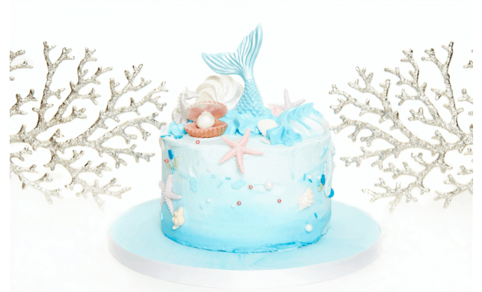 Mermaid Cake from 3D Cakes - choice of 4 sizes