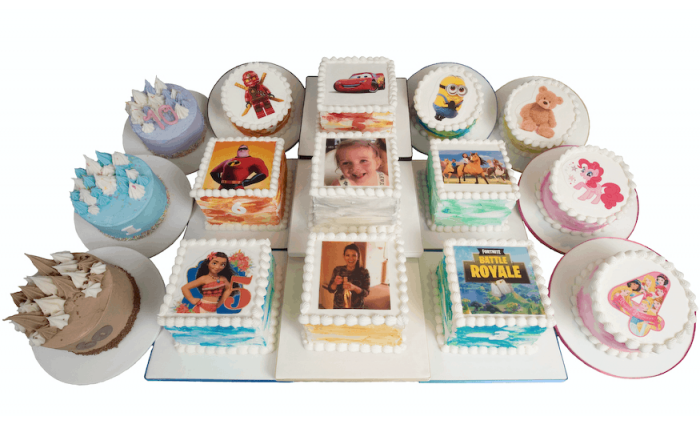 Colourful Personalised Picture Cakes from 3D Cakes Edinburgh or Glasgow