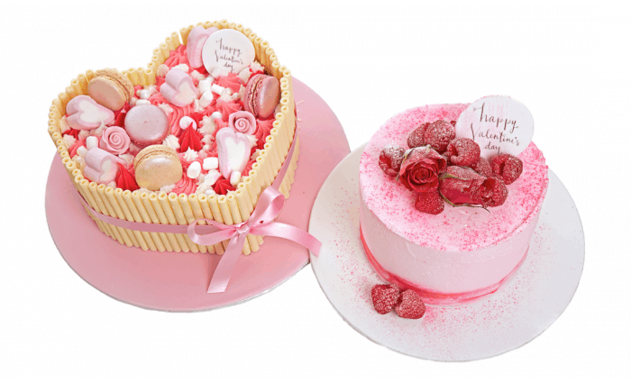 Gourmet Valentine's Cake - Choice of 2 Designs